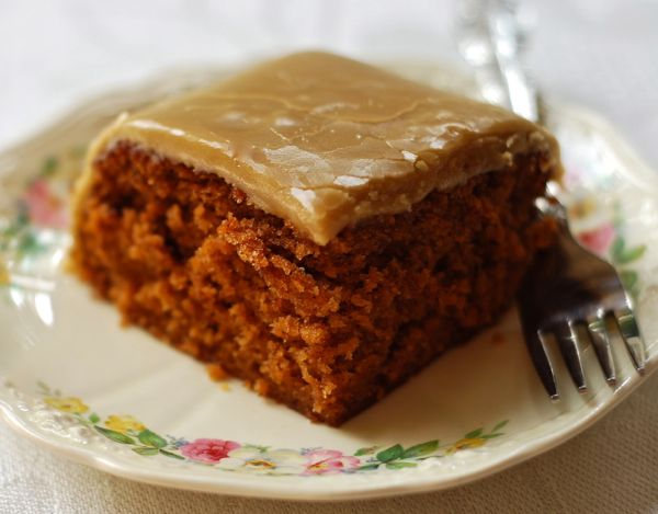 Tomato Soup Cake With Boiled Caramel Frosting