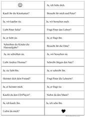 Personalpronomen im Dativ | algemein deutsch | Pinterest ...