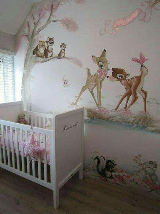 Pin Von Margaret Rozzi Auf Decorazioni Muro Disney Baby Zimmer Zimmer Themen Disney Kinderzimmer