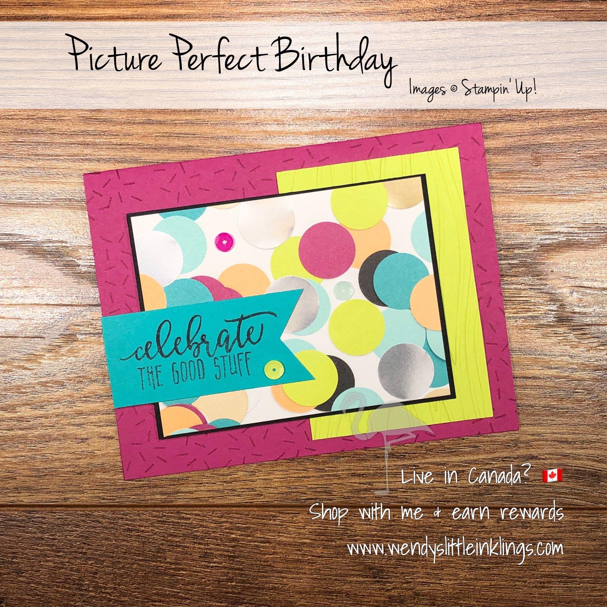 Card swap thursday picture perfect party suite cards