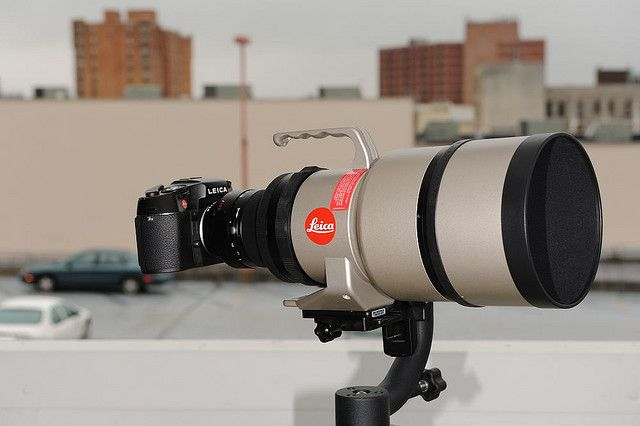 Leica 400 F2 8 Leica Nikon Lens Camera