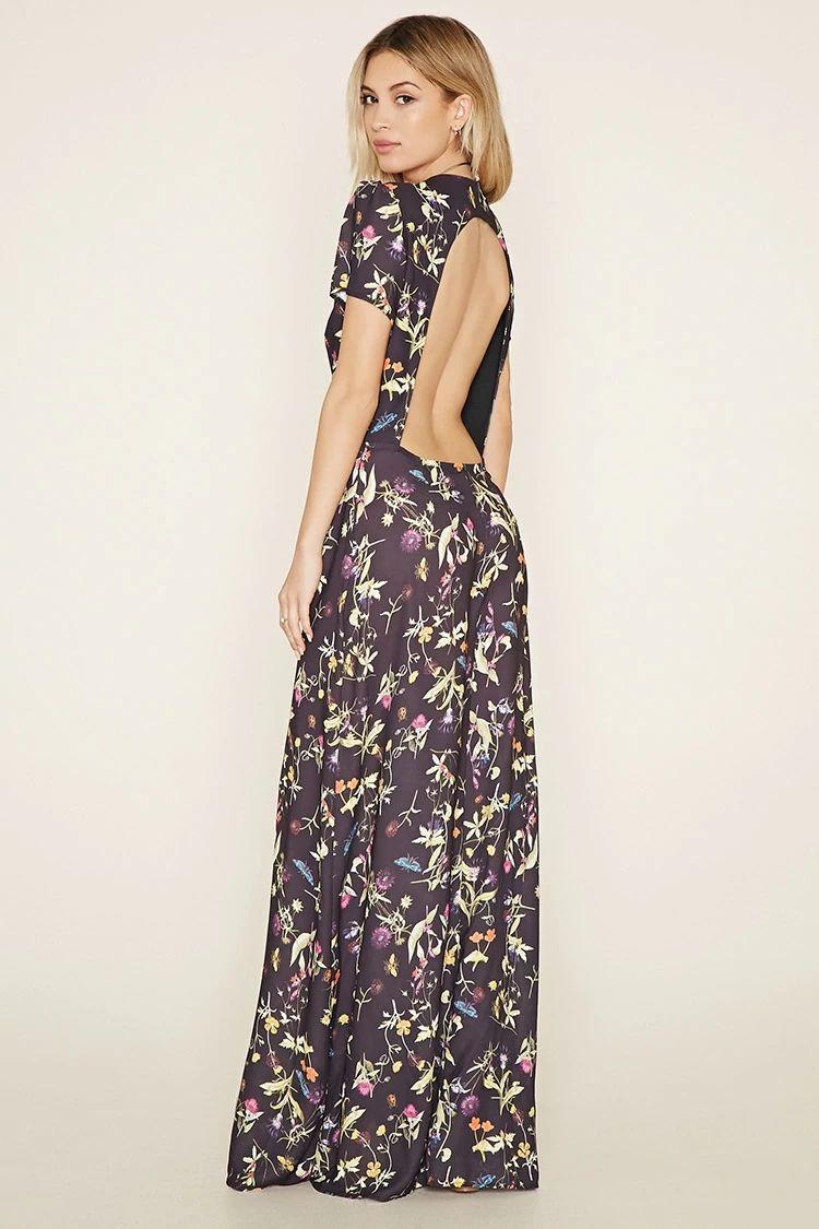 be3072ce89c Oh My Love Floral Maxi Dress  f21brandedshop