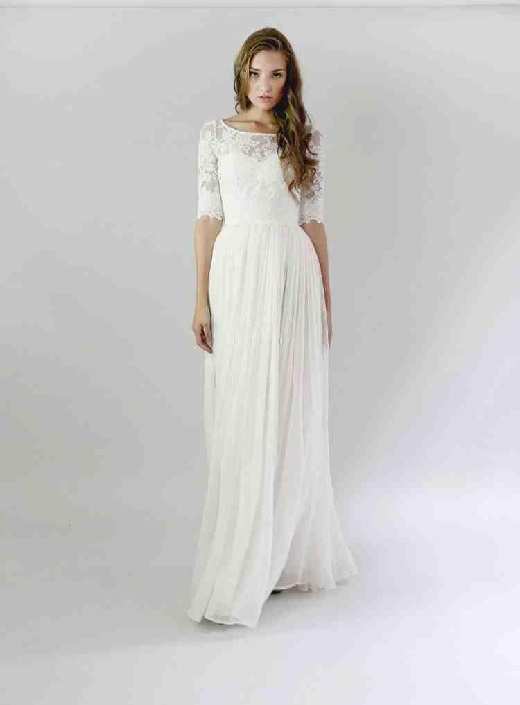 Modest Wedding Dress Patterns Casual Wedding Dress Leanne