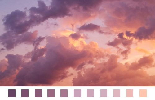No Excuse For This Sky Aesthetic Nature Color Palette Clouds