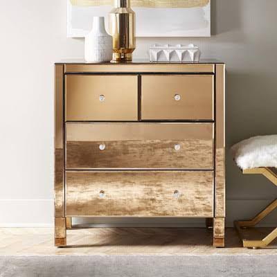 Mirrored Dresser Google Search Dresser With Mirror Dresser As Nightstand Modern Dresser