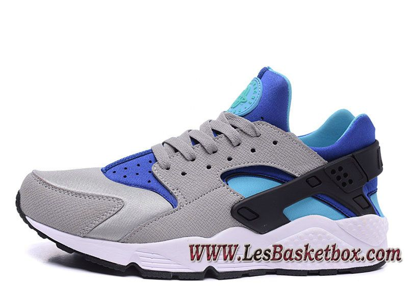 pas mal 684a8 22871 Nike Air Huarache Gris Bleu 318429_ID7 Officiel Nike urh ...
