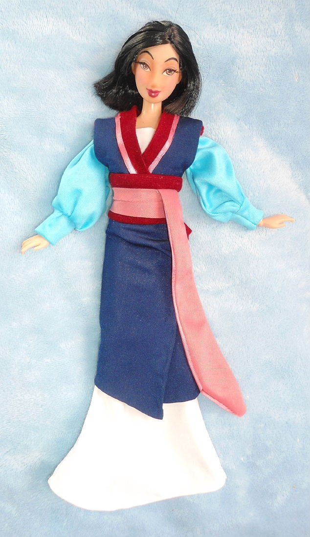 repainted as Ping Mulan doll