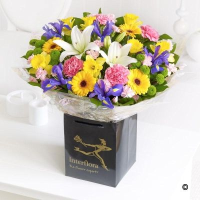 Spring Handtied * A Vibrant Hand-tied Bursting with ...