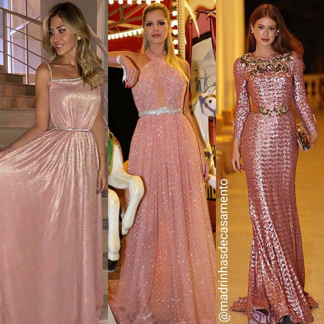 Marina Ruy Barbosa com vestido rosa em casamento