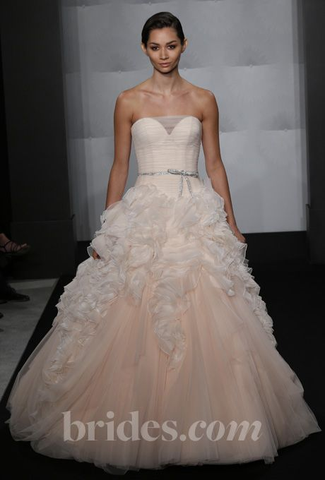Mark Zunino For Kleinfeld 2017 Pink Wedding Gownswedding