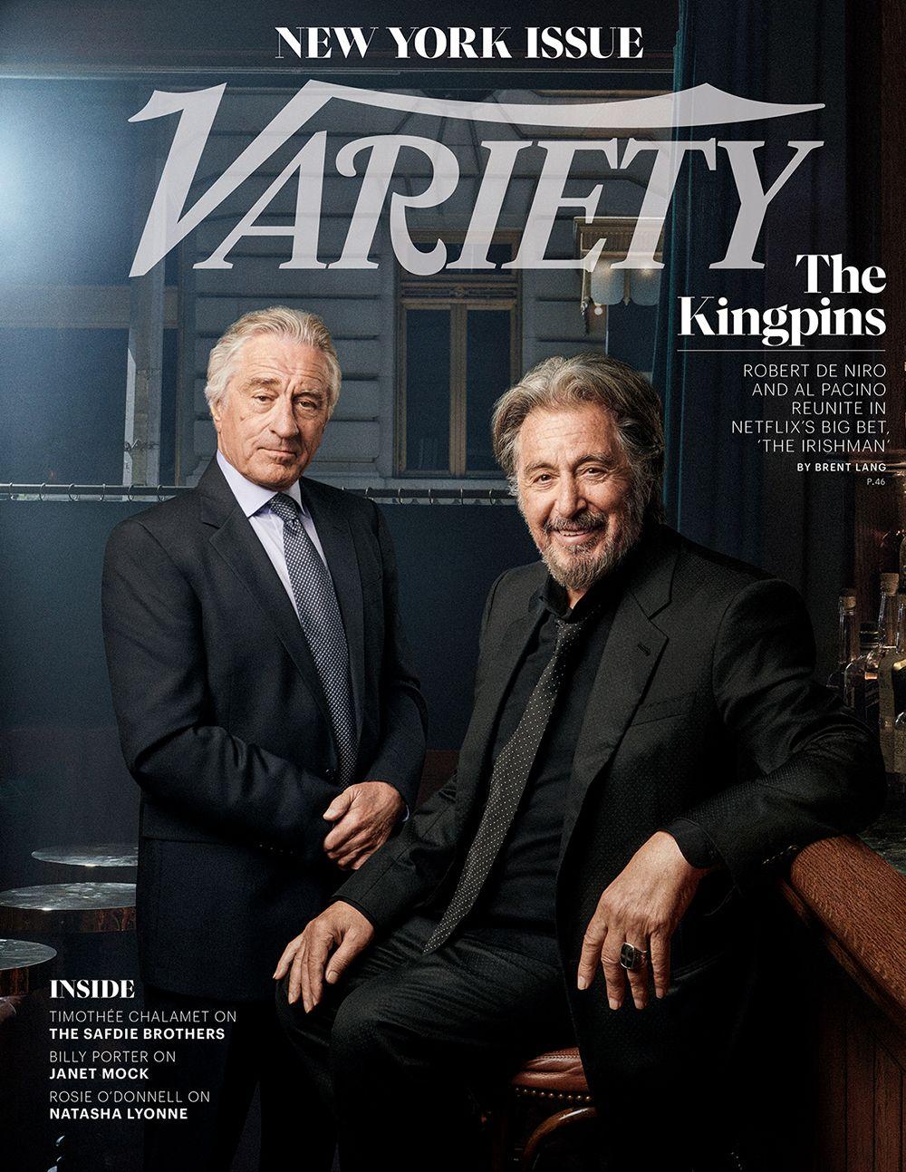 Robert De Niro And Al Pacino On Reuniting For Netflix S Costly