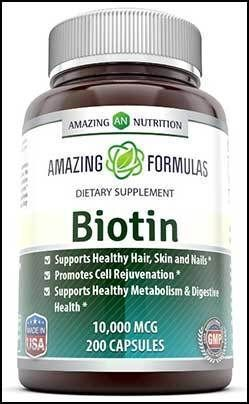 Here Are 10 Of The Best Biotin Hair Loss Vitamin Supplements To Help Regrow Lost Due Baldness Alopecia Areata And Perhaps Stress