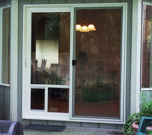 Doggie Doors Pet Door Design Patio Pet Door Conversion System