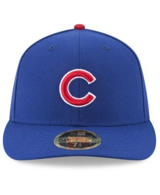 super popular 89056 4ebbb New Era Chicago Cubs Jackie Robinson Day Low Profile 59FIFTY Fitted Cap -  Blue 7 1 4
