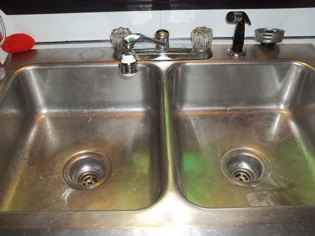 How To Unclog A Double Kitchen Sink Drain Kitchen Sink Clogged