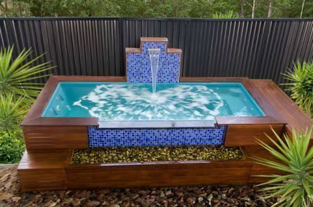 Small Above Ground Pools Google Search Backyard Pool Small Above Ground Pool Pool Landscaping