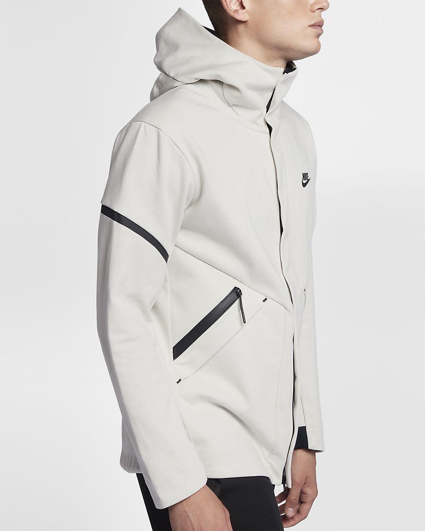 Nike sportswear tech fleece repel windrunner mens jacket