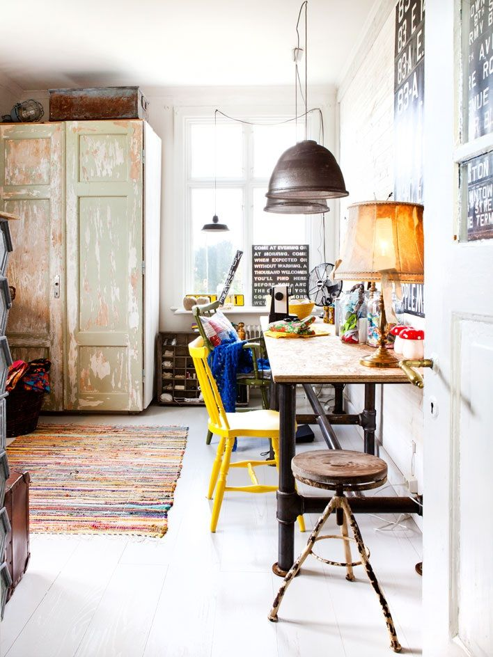 eclectic style.
