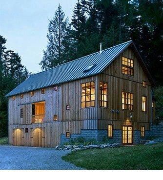Converted Barns Into Homes Vermont Bank Barn Converted Into