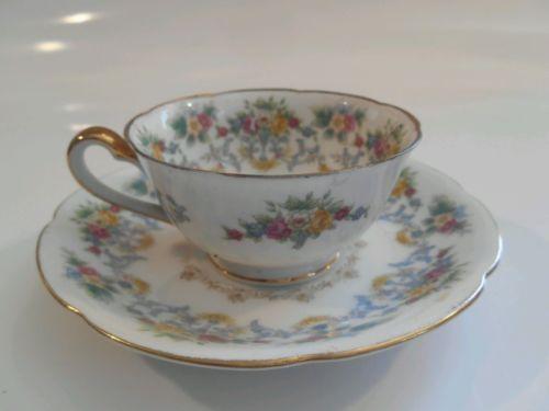 Vintage Occupied Japan Porcelain China Teacup and Saucer