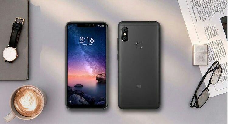 Xiaomi Redmi Note 6 Pro 3gb Ram 4g Phablet Global Version Black Smartphone Xiaomi Phablet