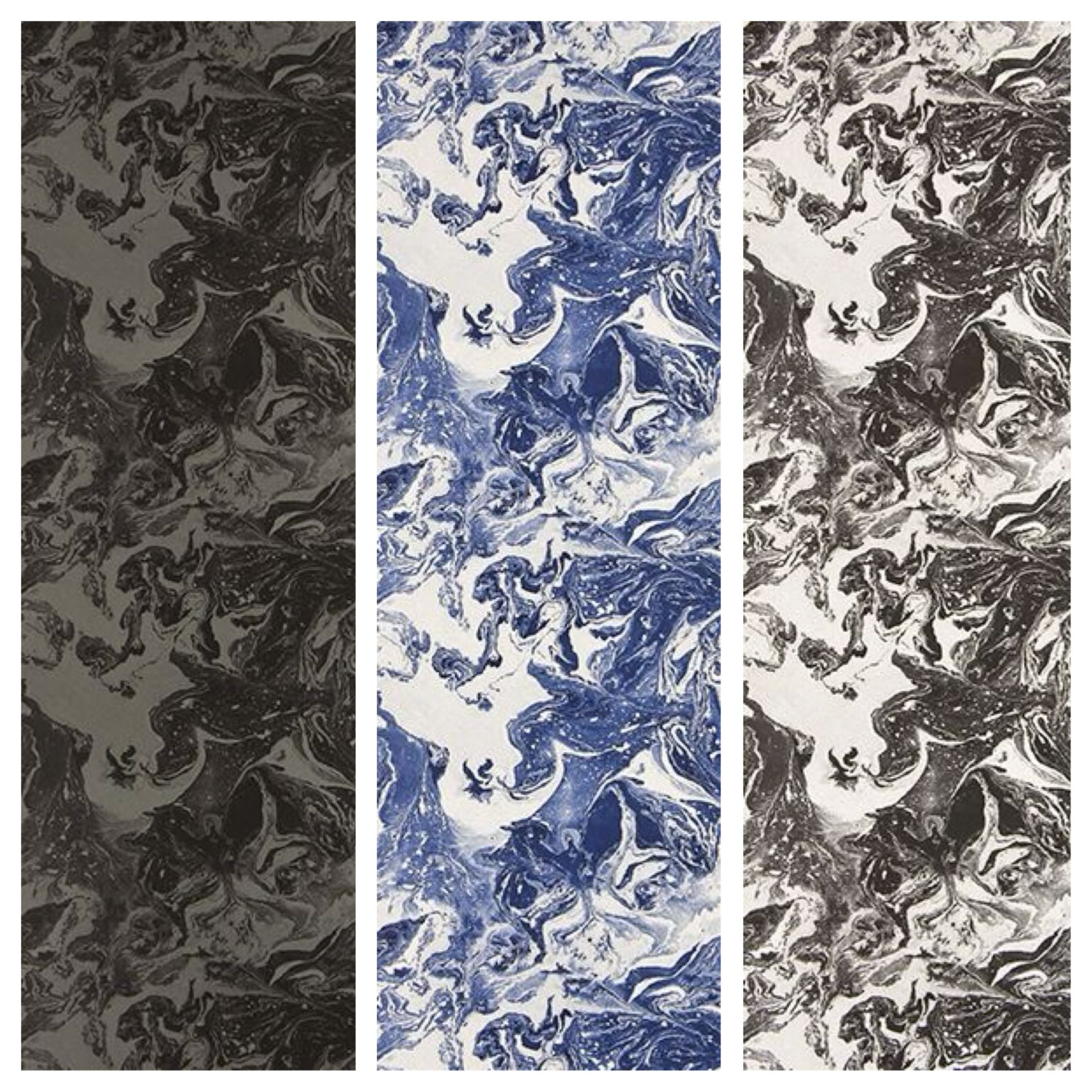 Wallpaper Love BAIN DE MINUIT by Christian Lacroix for