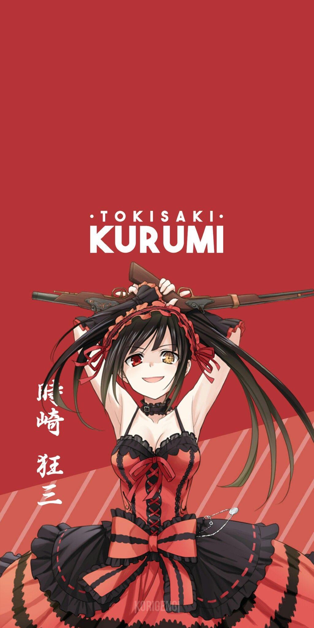 Tokisaki Kurumi (Date A Live) Personajes de anime
