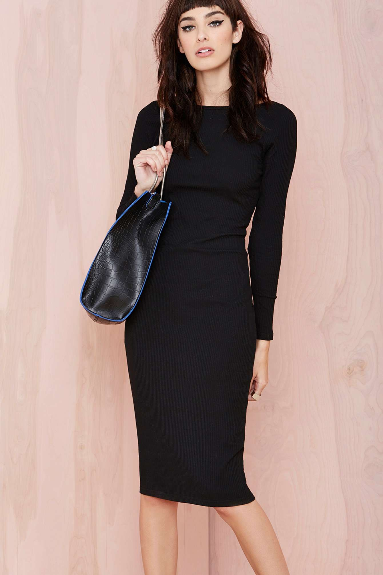 Tznius classic chic pinterest lbd black midi dress and midi