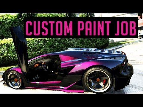 Gta 5 Custom Paint Job Cool Paint Job Things I Love