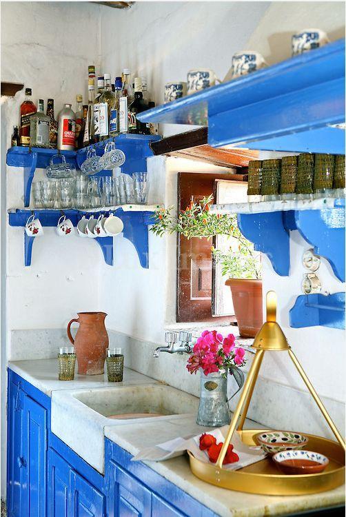 greek kitchen design. Marble Sink  Greek Kitchen Tradition Interiors Sinks And Marbles