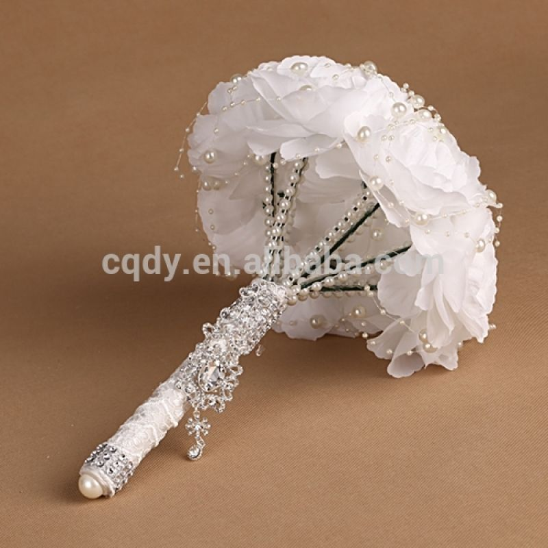 Lovely Wedding Bouquet Holder For Silk Flowers | Bouquet holder ...