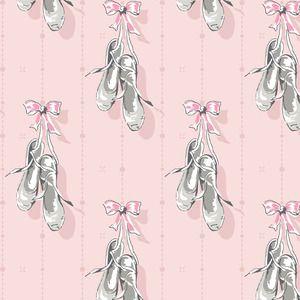 Anna Griffin - Arabesque - Ballet Slippers in Pink