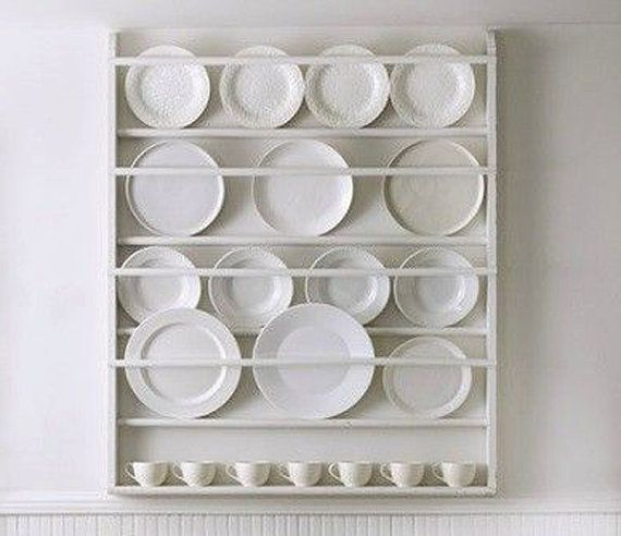 Plate Holders For Wall Delectable Plate Rack Plate Holder Wall Mounted Plate Shelf  Plate Racks Design Decoration