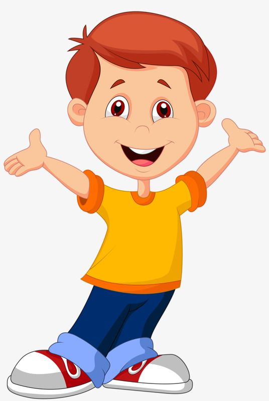 Boy Cartoon Images : cartoon, images, Smiling, Clipart,, Smile, Transparent, Clipart, Image, Download, Cartoon, Illustration