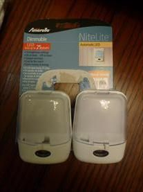 StorkBrokers.com: Two Dimmable LED nitelites, kids, $8.00