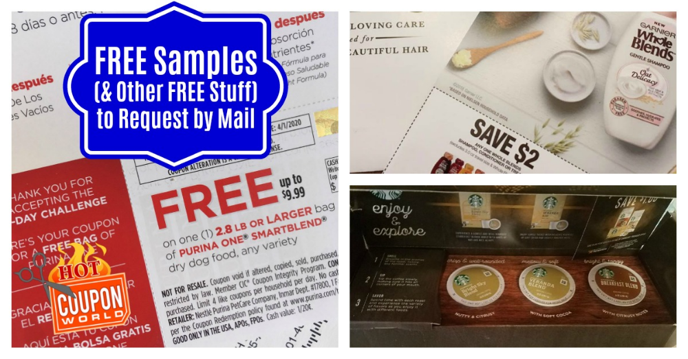 Free Samples by Mail (& FREE Magazines)! Free