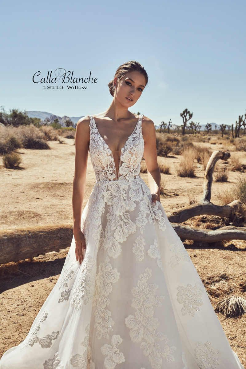 9c8957ff4d7a Calla Blanche Spring 2019 Bridal Collection | ElegantWedding.ca