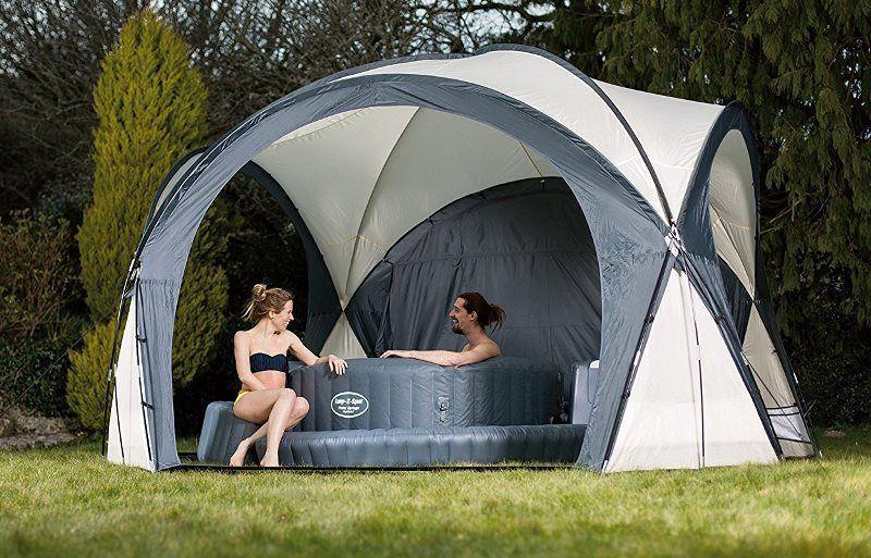 Lay Z Spa Inflatable Hot Tub Dome Gazebo Enclosure Shelter ...
