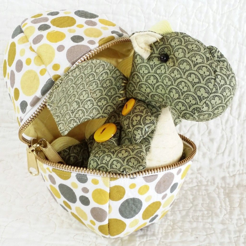 Baby Animal Eggs Sewing Pattern Sewing stuffed animals