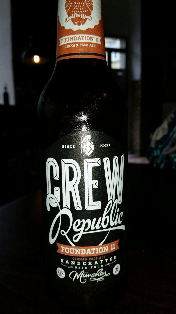 Crew Republic. Handcrafted German Pale Ale. Munich ...