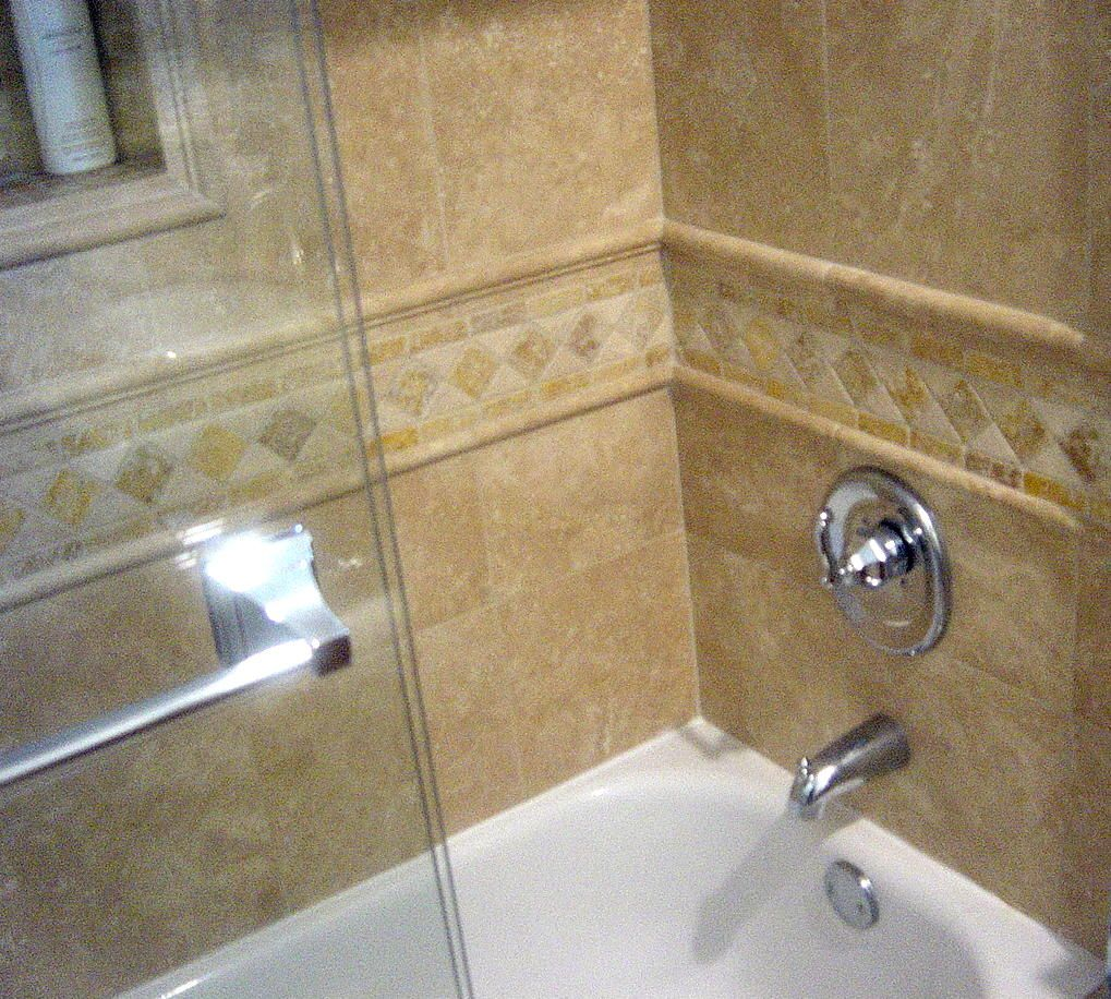 Travertine Bathroom   Google Search Nice Design On Wall