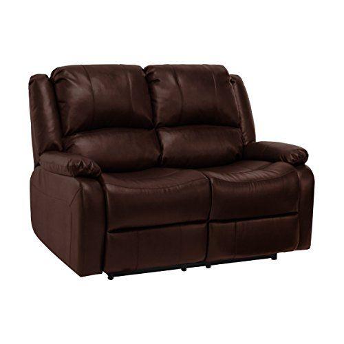 Recpro Charles 58 Double Rv Zero Wall Hugger Recliner Sofa Loveseat Mahogany