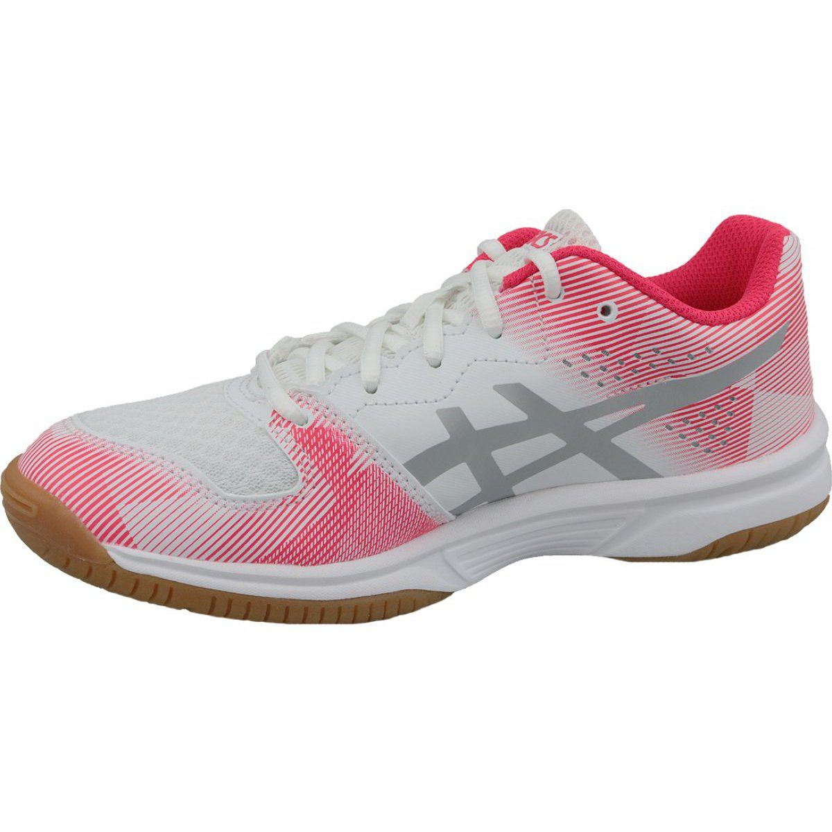 Volleyball Shoes Asics Gel Tactic Gs Jr 1074a014 101 White Grey Volleyball Shoes Asics Volleyball Shoes Asics