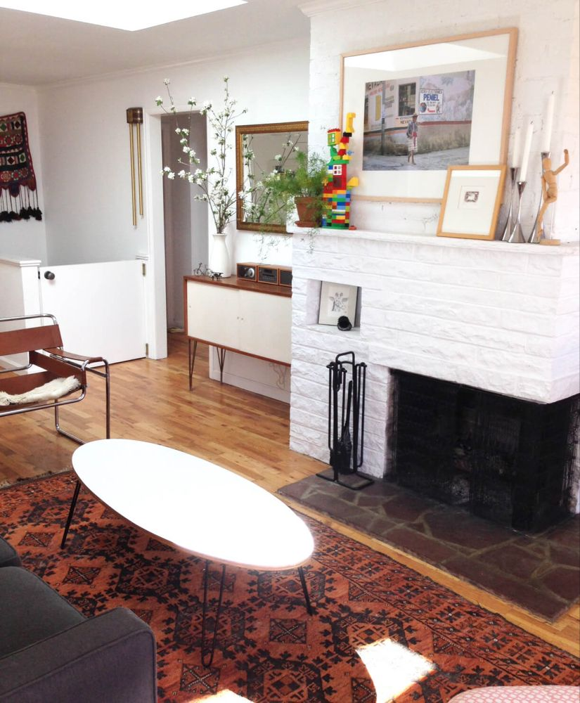 How To Lay out A Narrow Living Room - Emily Henderson ...