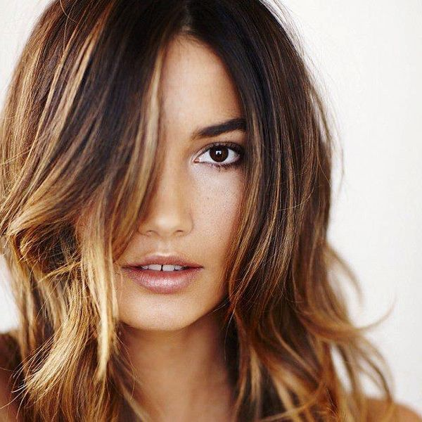 Hair Color For Cool Skin Tones And Brown Eyes Fashion Styles Reference Z0w35a0pbv Brunette Hair Color Hair Highlights Cool Hair Color