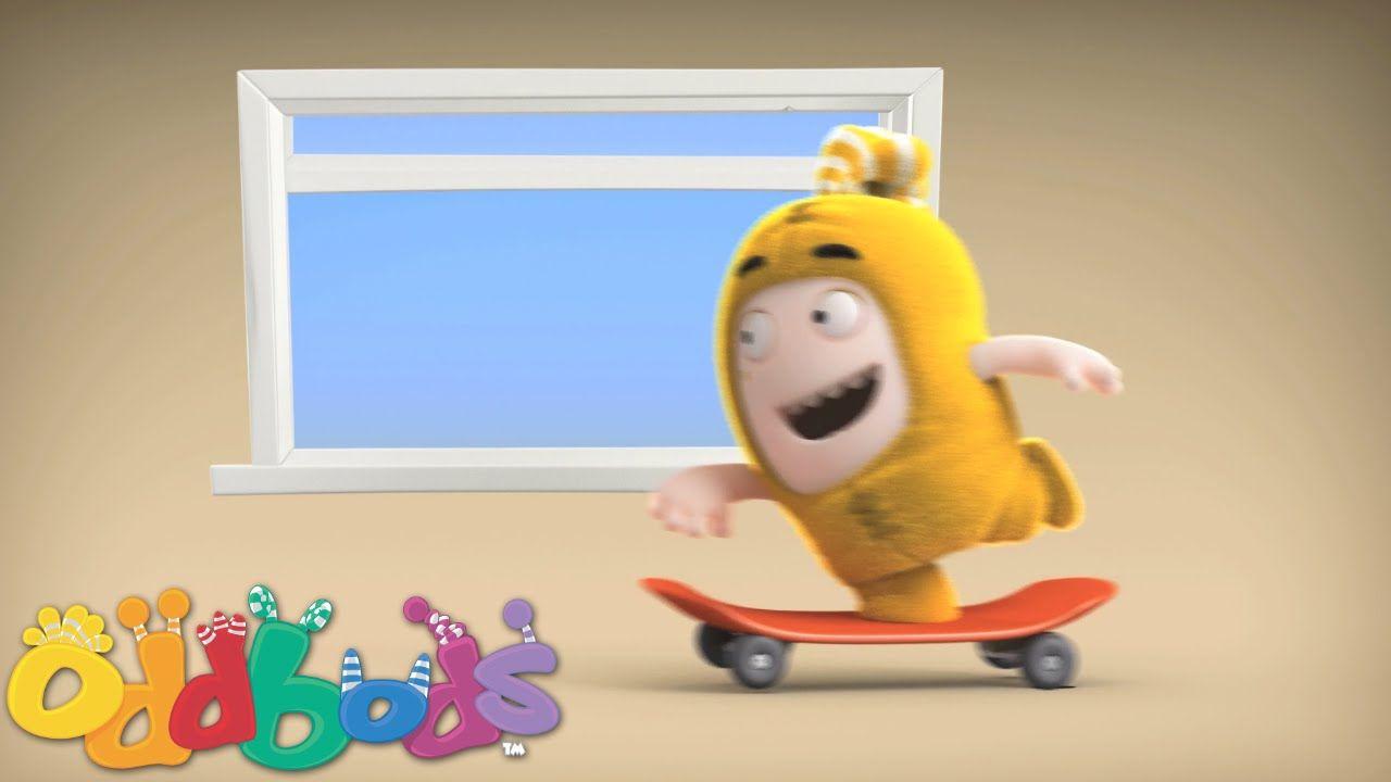 Oddbods   Bubbles Skateboarding