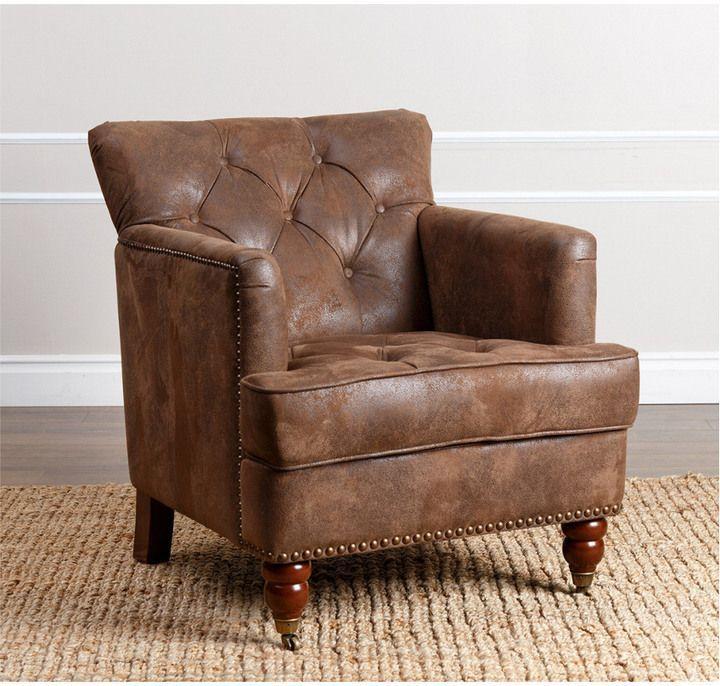 Tafton Club Chair Molded Plastic Abbyson Living House