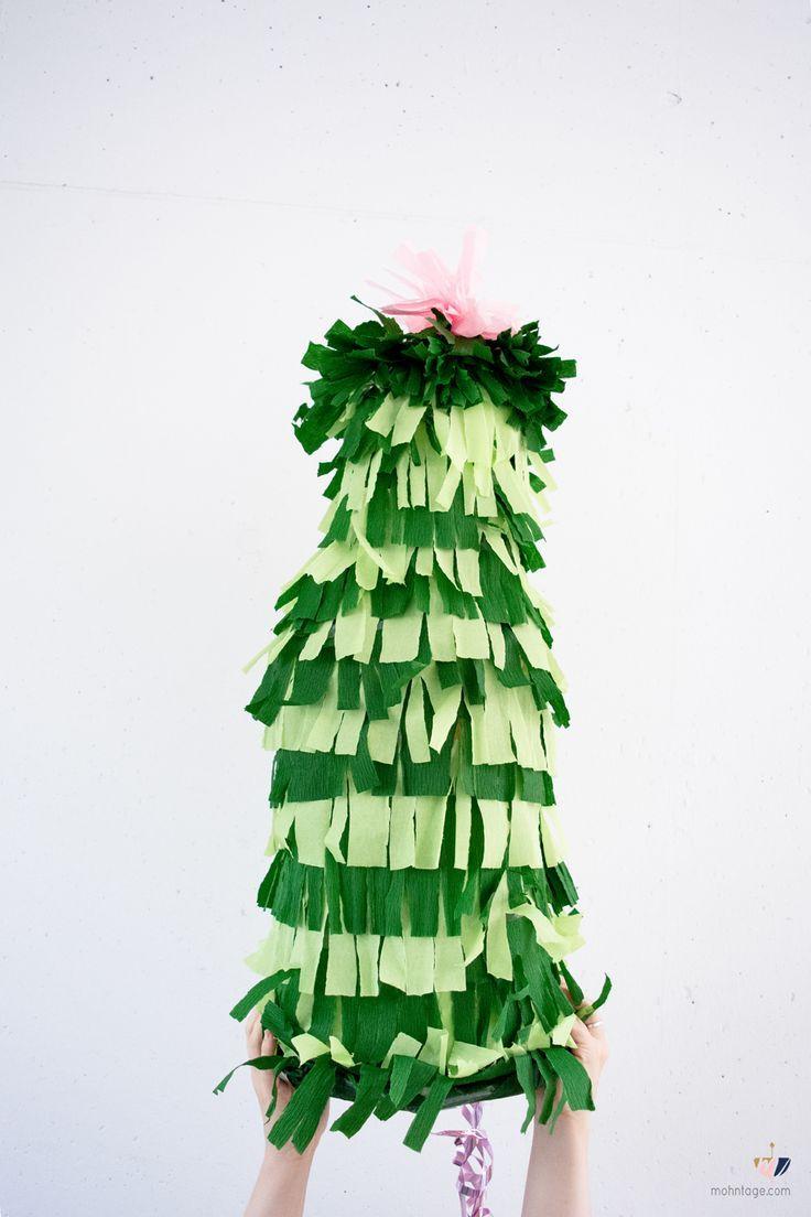 Xxl Kaktus Pinata Selber Basteln Diy Christmas Ideas Diy