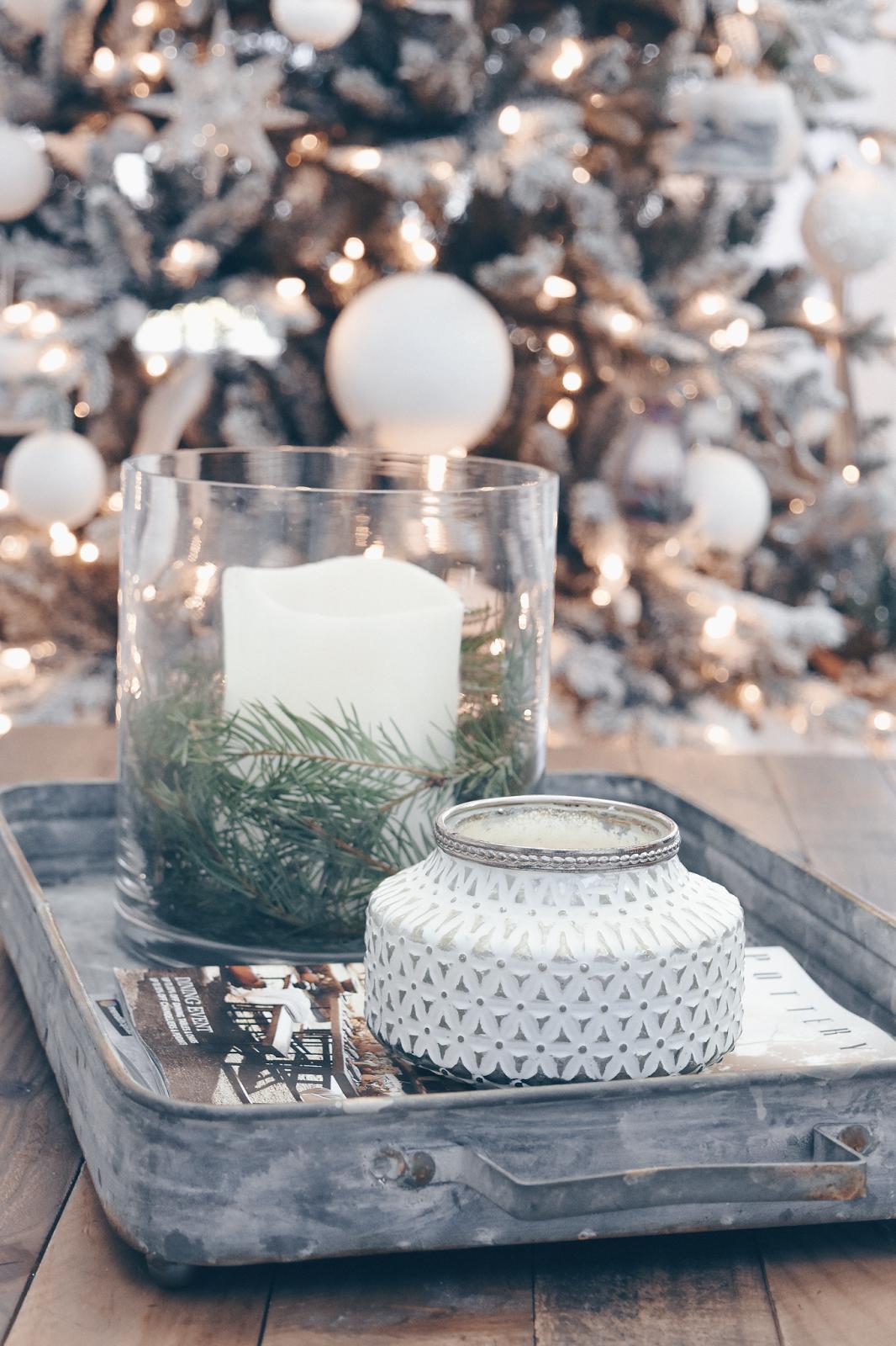 Farmhouse Christmas Decor White