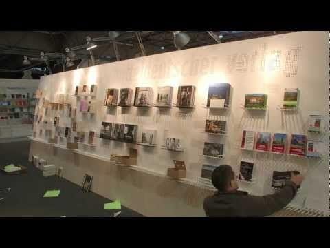 Ein interaktiver Messestand - Mitteldeutscher Verlag 2012 - Buchmesse Leipzig
